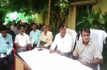 Video : नोडल अधिकारी ने जांच के दौरान अधिकारियों को लगाई फटकार
