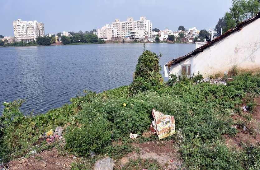 तालाबों के किनारे तन गई कॉलोनियां, शहर के 36 में से 16 तालाब पट रहे अतिक्रमण से