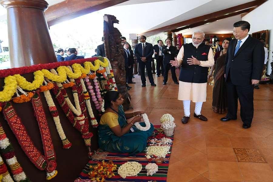 pm-narendra modi Gift Xi Jinping meeting-in-mahabalipuram
