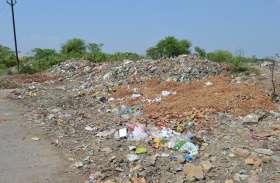 हटा नाका पर पुन: नजर आने लगे कचरे के बड़े बड़े ढेर, मौके से गायब हो गई तार फैसिंग