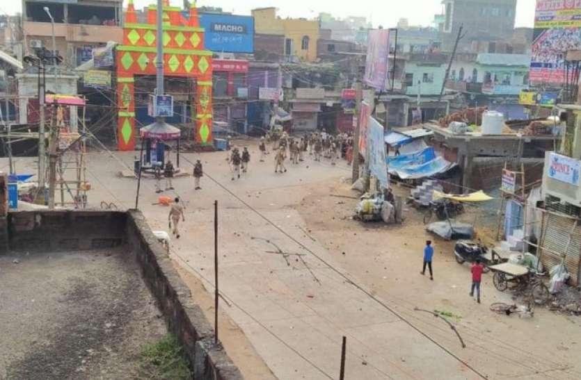 बिहार: उपद्रव के बाद पुलिस लगातार कर रही गश्त, 50 से अधिक उपद्रवी गिरफ्तार