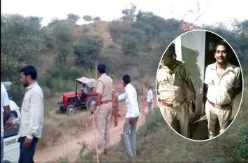 अवैध खनन पर कार्रवाई के लिए पहुंची टीम को मारने के लिए दौड़े हथियारबंद 50-60 लोग