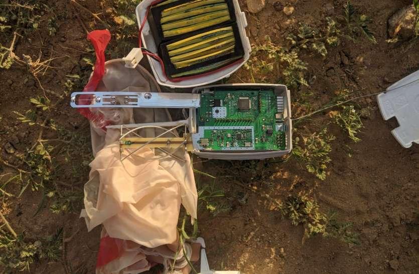 रोही में मिला उपकरण, बीएसएफ पहुंची मौके पर