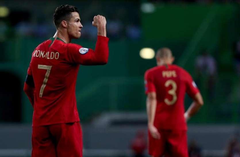 एक और गोल करते ही इतिहास रच देंगे क्रिस्टियानो रोनाल्डो