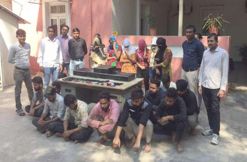 Ahmedabad News देश के 11 राज्यों के 70 लोगों को ५.४४ करोड़ की लगाने वाले गिरोह का पर्दाफाश,जानिए कहां से पकड़े गए...