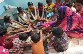 कुपोषित व एनीमिया प्रभावित बच्चों एवं महिलाओं को माह के पहले, तीसरे मंगलवार मिलने लगे पौष्टिक लड्डू