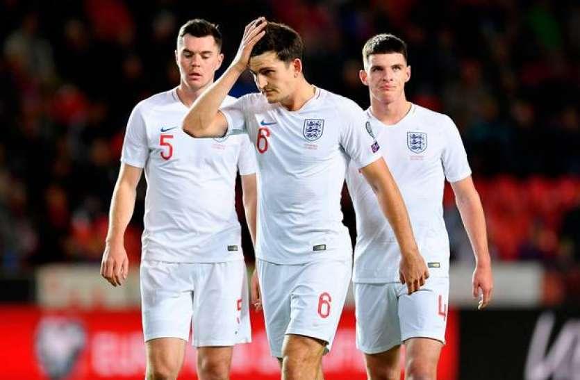 इंग्लैंड फुटबॉल टीम के साथ दस सालों में पहली बार हुआ ऐसा