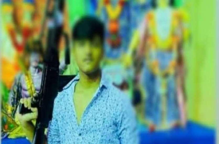 त्रिपुरा: मशीन गन के साथ सीएम के नाबालिग बेटे की फोटो वायरल