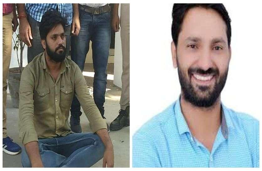बड़ी खबर : बसपा प्रत्याशी जसराम पटेल की हत्या का इनामी बदमाश गिरफ्तार, जसराम पर चलाई थी ताबड़तोड़ गोलियां