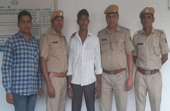 किशनगढ़: बालिका से बलात्कार की कोशिश का आरोपी गिरफ्तार, पुलिस ने दबोचा