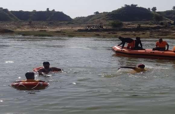 बनास नदी में डूबे युवक का शव मिला