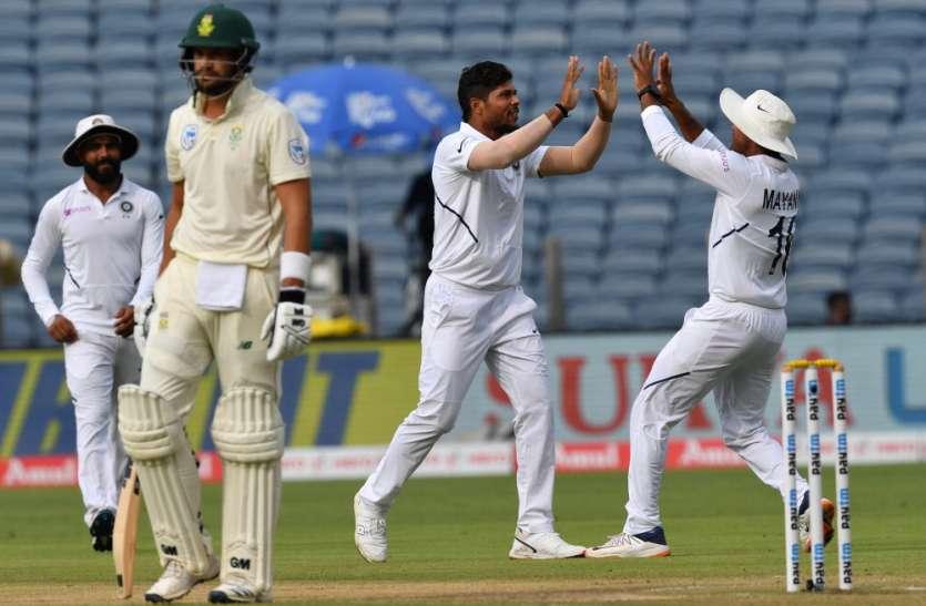 भारतीय गेंदबाजों का धमाल, साउथ अफ्रीका पर मंडराया फॉलोऑन का खतरा