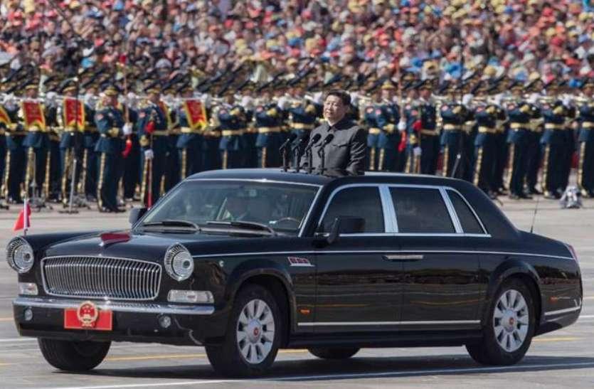 चीनी राष्ट्रपति अपने साथ भारत लेकर आए ये ख़ास कार, सुरक्षा के लिहाज से इसका नहीं कोई मुकाबला