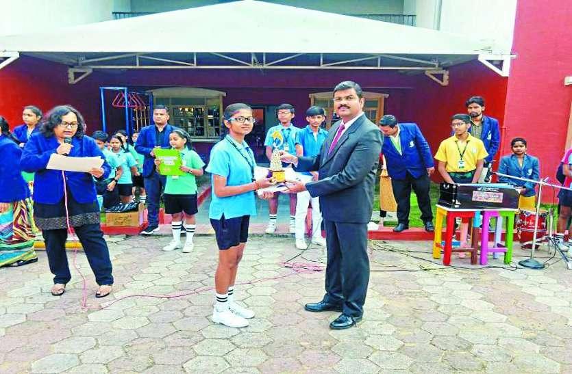school News:डीपीएस के विद्यार्थियों ने लहराया जीत का परचम