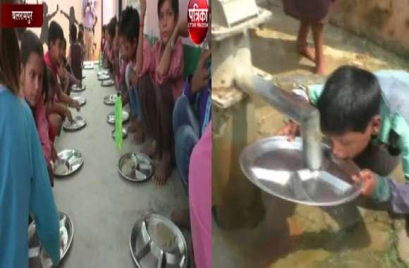 यहां मिड डे मील योजना के नाम पर हो रहा खिलवाड़, सरकारी स्कूलों में बच्चों को यह खिला रहे जिम्मेदार, देखें Exclusive वीडियो