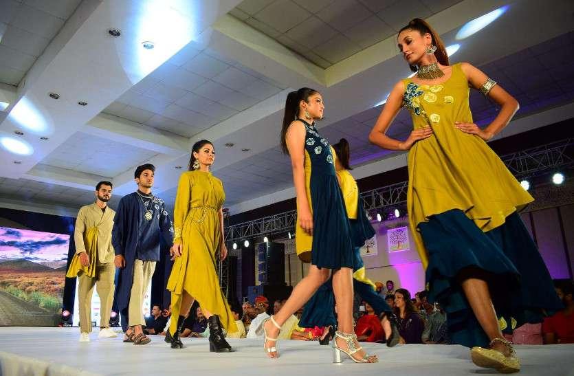 बिग बॉस फेम फैशन स्टाइलिस्ट इमाम सिद्दीकी की मौजूदगी में मॉडल्स का कैटवॉक