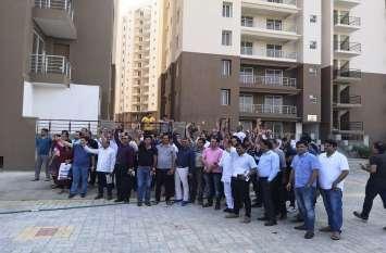 ईडी ने अटैच की पार्क रेजीडेंसी : फ्लैट खरीदारों ने कहा 500 करोड़ रुपए हमारे लगे