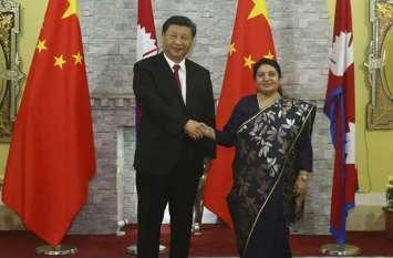 चीन के राष्ट्र्रपति शी जिनपिंग के स्वागत से लोग नाराज, रात्रि भोज में नेपाली व्यंजन थे नदारद
