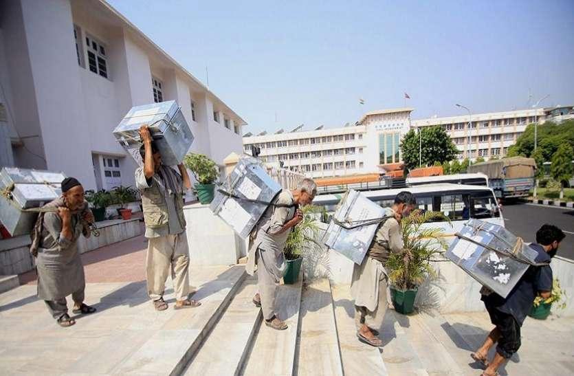 अंतिम दरबार मूव की तैयारियां जारी, कर्मचारी जुटे