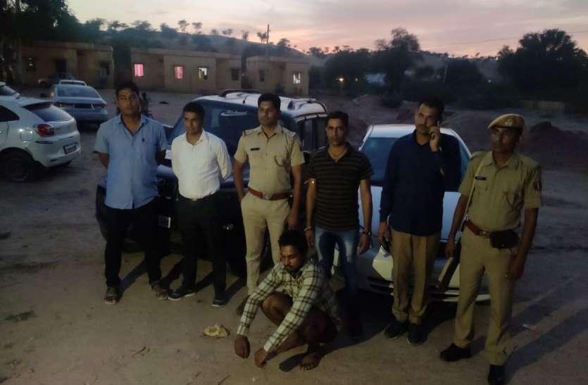 बीकानेर: रात को पुलिस-तस्करों के बीच हुई थी दो घंटे फायरिंग