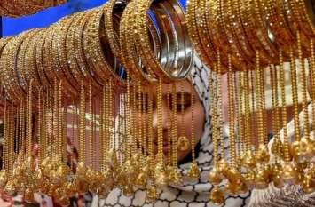 वैश्विक बाजारों में तेजी की वजह से सोना हुआ 230 रुपए प्रति दस ग्राम महंगा