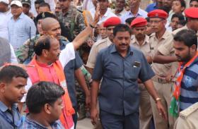 हजारीबाग से शुरू हुआ BJP की यात्रा का तीसरा चरण,23 विस सीटों को साधने निकले CM