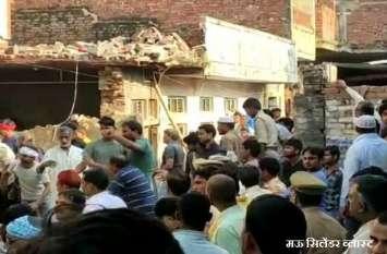 मऊ ब्लास्ट की तरह जौनपुर में भी हुआ था हादसा, ऑक्सीजन सिलेंडर ब्लॉस्ट से हुई थी छह की मौत
