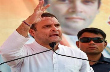 राहुल गांधी ने पीएम मोदी पर साधा निशाना, बताया- अडानी और अंबानी का लाउडस्पीकर