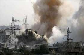 अमरीकी युद्धक विमानों ने सीरियाई सैन्य काफिले को बनाया निशाना, कोई हताहत नहीं