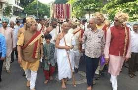 Tamilnadu गाजे बाजे के साथ निकाला जाजम का वरघोड़ा
