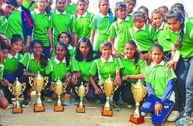 वॉलीबाल: बालक वर्ग में सागर, इंदौर, बालिका में इंदौर व ग्वालियर की टीम ने जीते अपने मैच