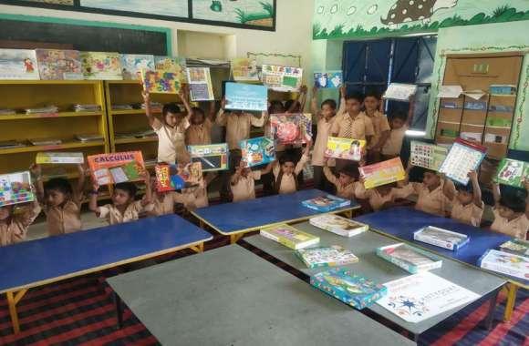 नवाचार : आकुना स्कूल में स्थापित हुई खिलौना बैंक, खेल-खेल में मिलेगी शिक्षा