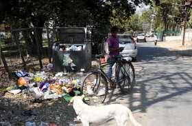इंदौर: डस्टबिन हटाकर स्वच्छता में नंबर वन बना भोपाल: स्मार्ट बिन के नाम पर हर जगह कचरा घर