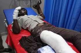अलवर में भीड़ ने तीन लोगों के पीट-पीटकर तोड़े हाथ पैर, मिट्टी तेल डालकर जिंदा जलाने की कोशिश, पुलिस की लापरवाही सामने आई