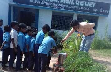 विश्व हाथ धुलाई दिवस: छात्रों को बताया स्वच्छता का महत्व