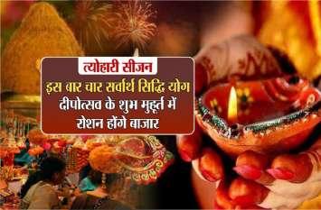 दीपावली 2019: इस बार चार सर्वार्थ सिद्धि योग, धनतेरस से पहले आ रहा फलदायी सोम और भौम पुष्य नक्षत्र