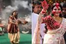 फेक अलर्ट: क्या दुर्गा पंडाल में धुनुची नाच करने वाली ये महिला नुसरत जहां है? यहां जान लीजिए सच्चाई