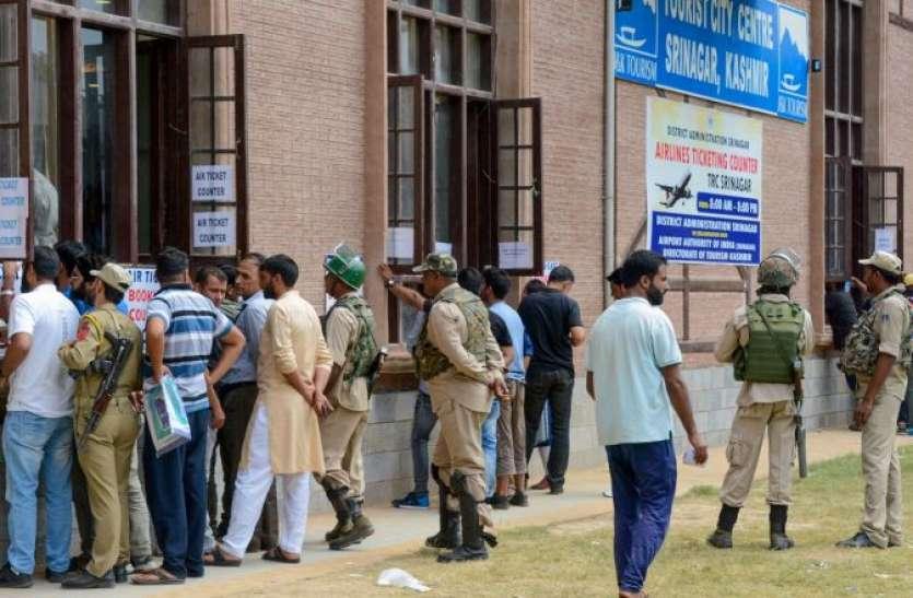 काम की आस में कश्मीर लौटने लगे प्रवासी मजदूर