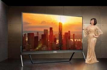Vu 100 inch 4K Super TV भारत में लॉन्च, JBL स्पीकर से है लैस, जानिए कीमत व फीचर्स