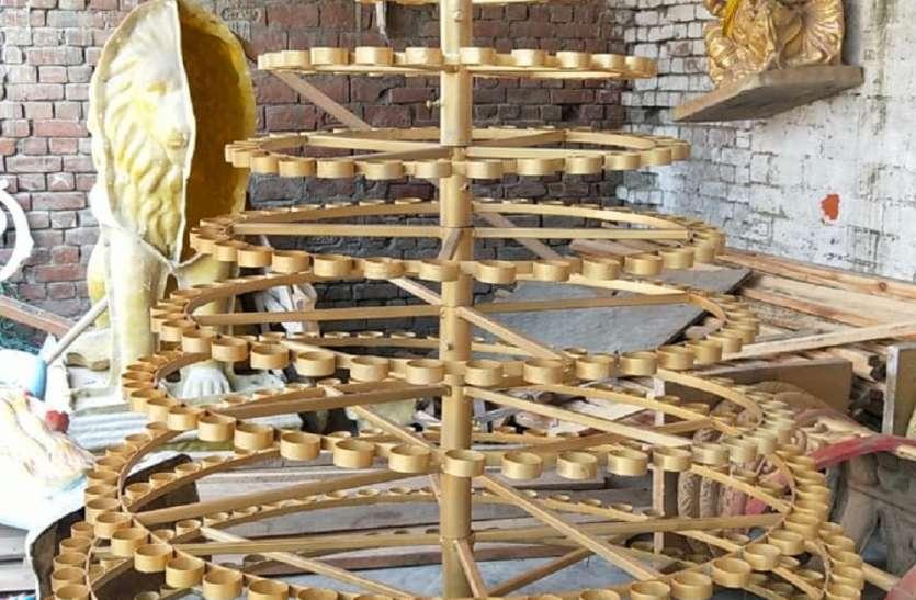 दीपोत्सव में राम की पैड़ी पर बनारस तर्ज लगेगा 7 फुट ऊँचा दीप स्टैंड