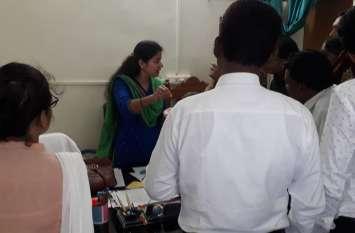 पीएम आवास के लिए अपात्र हितग्राहियों ने किया हंगामा
