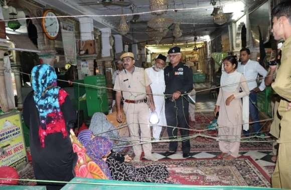 Dargah security-खानाबदोश बन सकते हैं 'खतरा