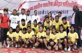 कूडो में  36  गोल्ड मेडल जीतकर सागर ओवरऑल विजेता, नर्मदापुरम की बेटियों ने जीता फुटबाल का खिताब