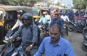 ध्वस्त हुई शहर की यातायात व्यवस्था, प्रतिदिन अघोषित जाम से जूझते हैं लोग