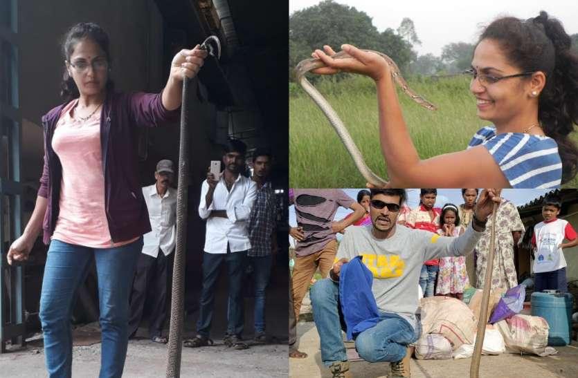 Karnataka Snake : दंपती ने 17 हजार सांपों को बचाकर भेजा उनके 'घर'