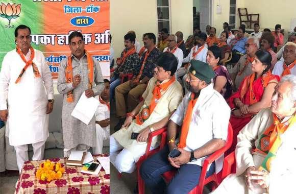 भाजपा समीक्षात्मक बैठक में संगठन चुनाव प्रभारी ने कहा भाजपा में कार्यकर्ता का होता है पूरा मान-सम्मान