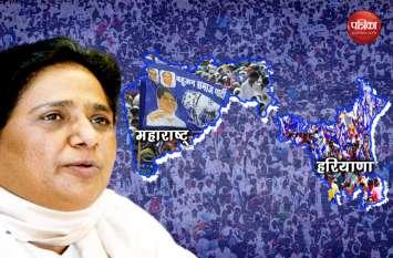 बसपा का हरियाणा में सरकार बनाने का दावा, तो महाराष्ट्र में उतरी सबसे ज्यादा उम्मीदवारों के साथ