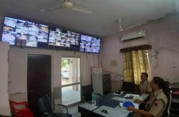 मालपुरा में 68 सीसीटीवी कैमरों से शहर की हर गतिविधियों पर निगरानी