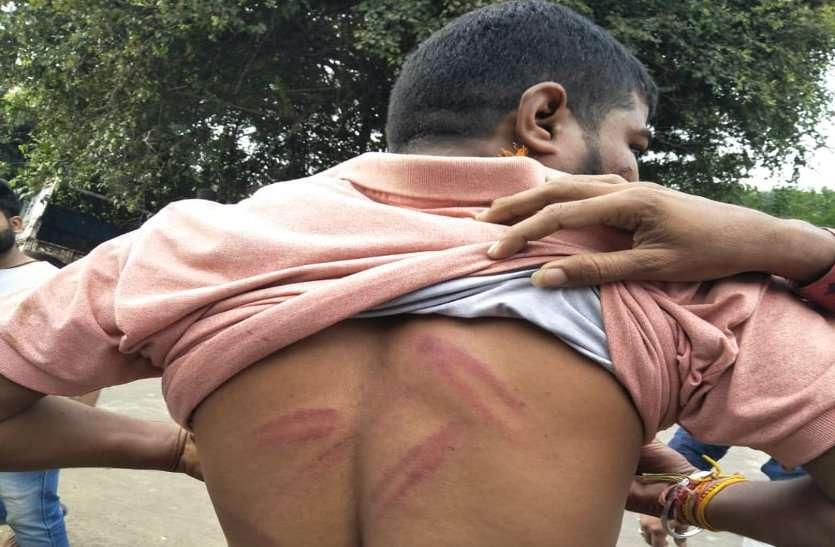 गो तस्करों ने बजरंग दल कार्यकर्ताओं पर किया हमला