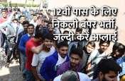Govt Jobs: 12वीं पास के लिए निकली बंपर भर्ती, जल्दी करें अप्लाई